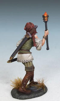 RPG Miniatures Female Rogue