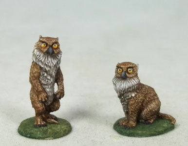 Owl Bear miniature