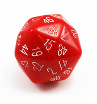 The Dice Lab d48 Red