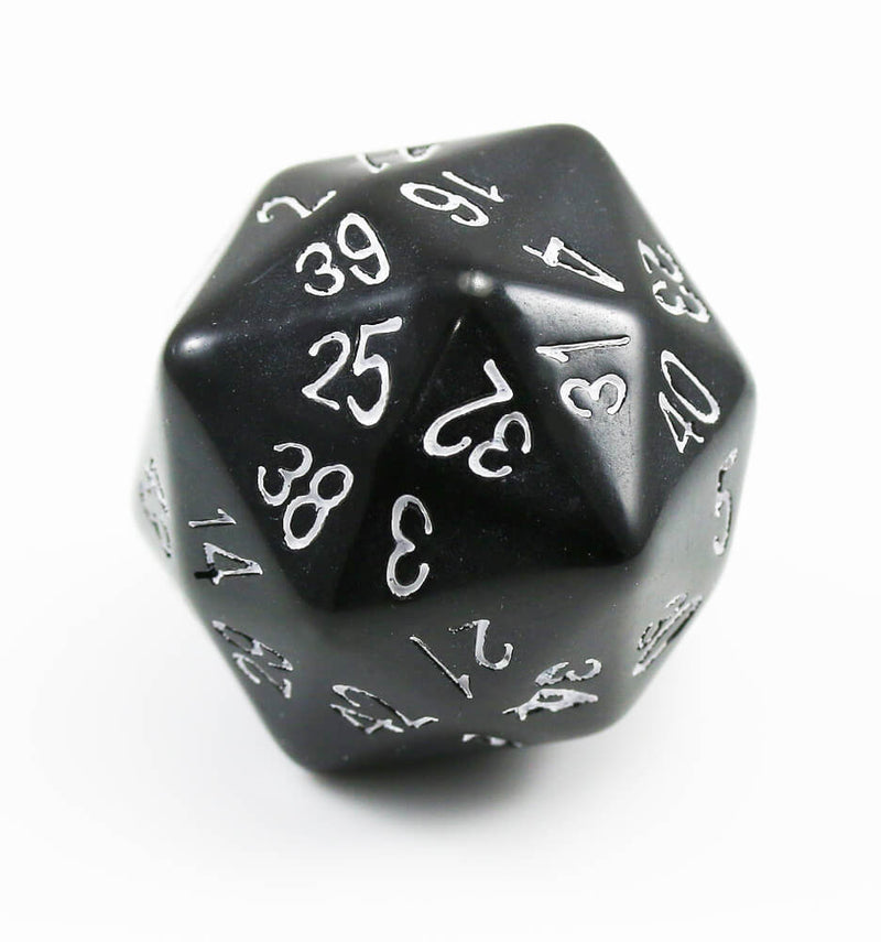 The Dice Lab d48 Black