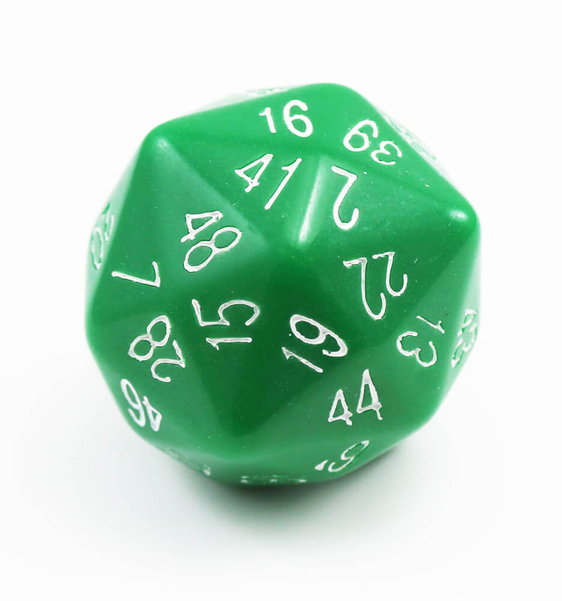 The Dice Lab d48 Green