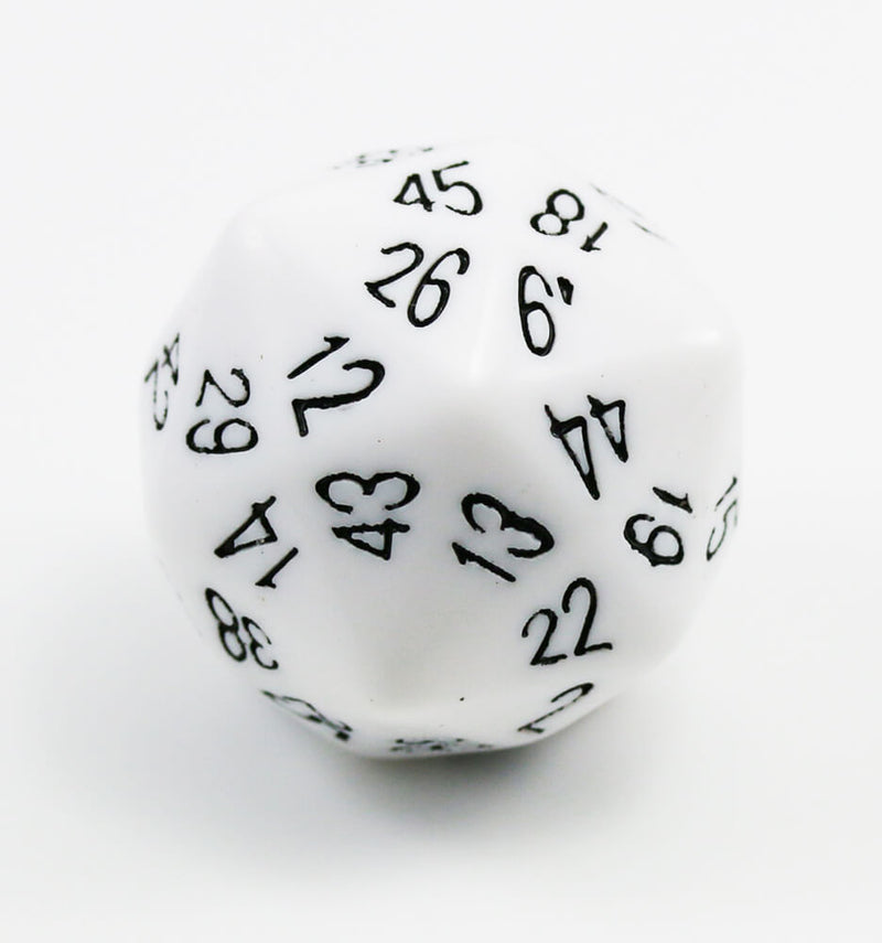 The Dice Lab d48 White