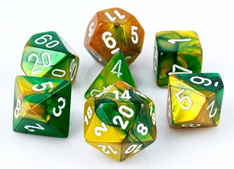 Gemini Dice Green Gold