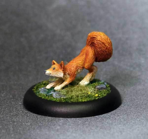 Bombshell Miniatures BOM60026 Friskers The Fox