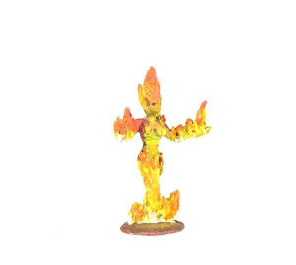 Bombshell Miniatures Promethia Fire Elemental