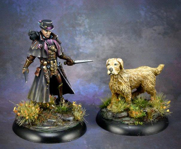 Dark Sword Miniatures DSM6506 Rogue With Dog
