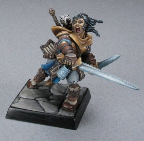 Pathfinder Miniatures Valeros, Fighter 60001