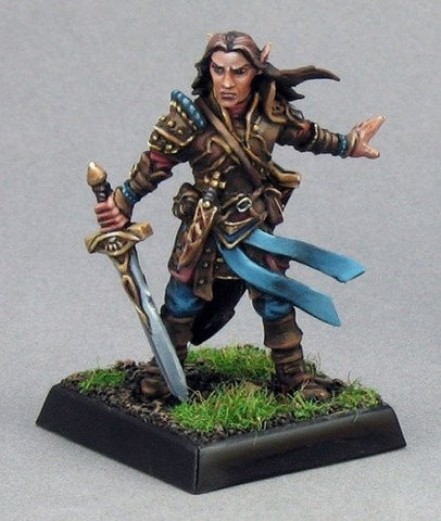 Pathfinder Miniatures Arael, Half Elf Cleric 60005