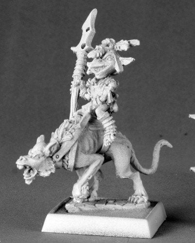 Pathfinder Miniatures Goblin Commando on Dog 60014