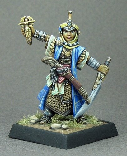 Pathfinder Miniatures Kyra, Cleric 60015