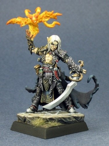 Pathfinder Miniatures Seltyiel, Eldritch Knight 60032