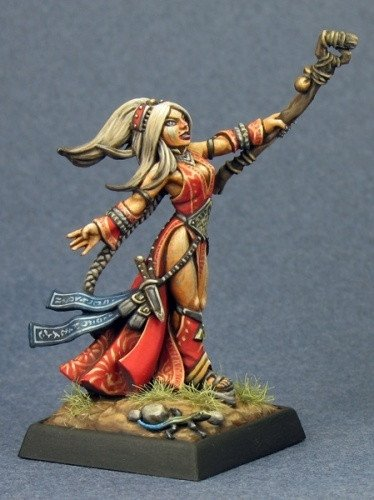 Pathfinder Miniatures Seoni, Druid 60034