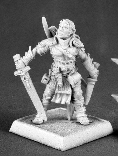 Pathfinder Miniatures Valeros, Male Fighter 60035