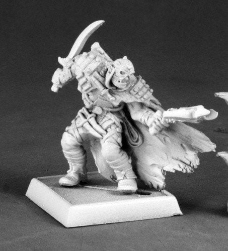 Pathfinder Miniatures Half Orc Assassin 60057