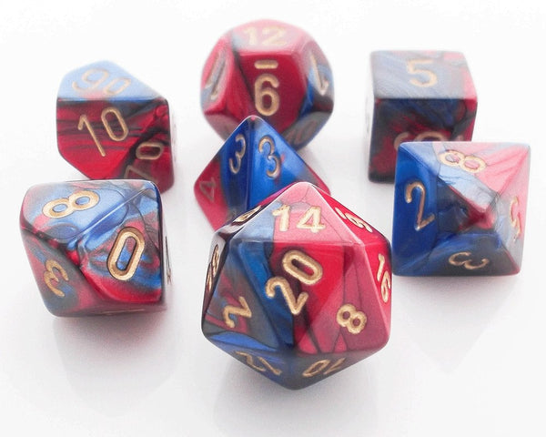 Gemini Dice Red Blue