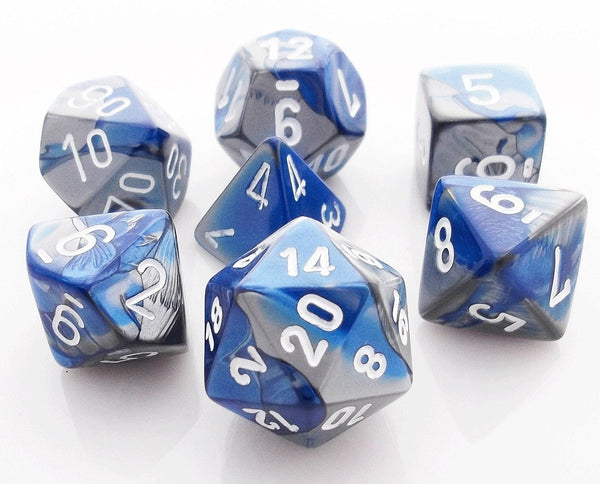 Gemini Dice Blue Steel