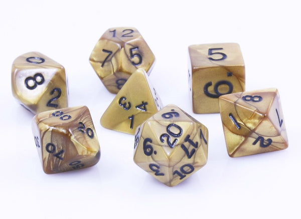 Olympic Dice Gold