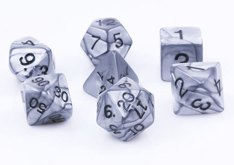 Olympic Dice Silver