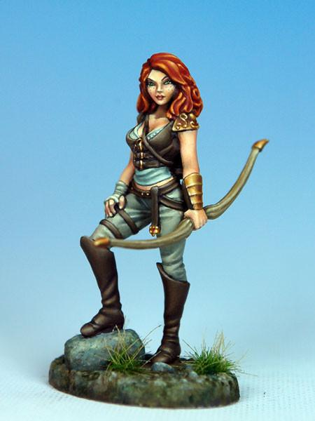 Dark Sword Miniatures Dsm7311 Female Archer 28mm Dark