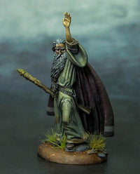 Miniatures Wizard With Staff