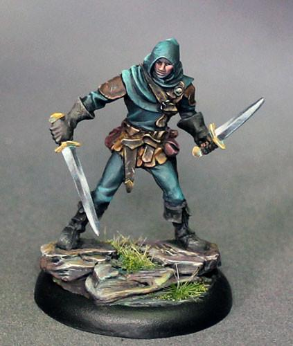 Dark Sword Miniatures Dual Wield Rogue