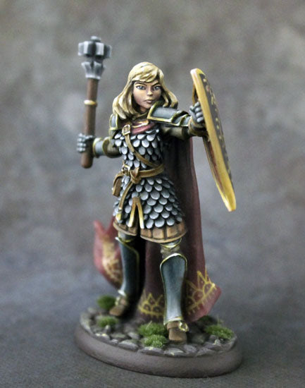 Dark Sword Miniatures Female Cleric