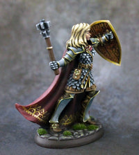 RPG Miniatures Female Cleric