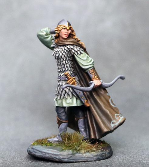 D&D Miniature Elf Ranger Fighter