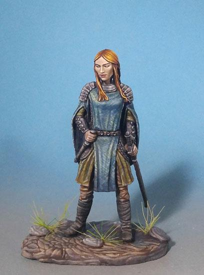 D&D Miniatures Female Paladin