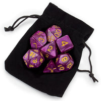 RPG Dice Abyssal Mist