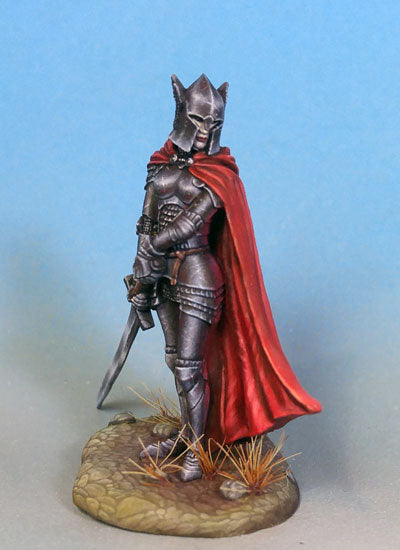 Dark Sword Miniatures Female Paladin