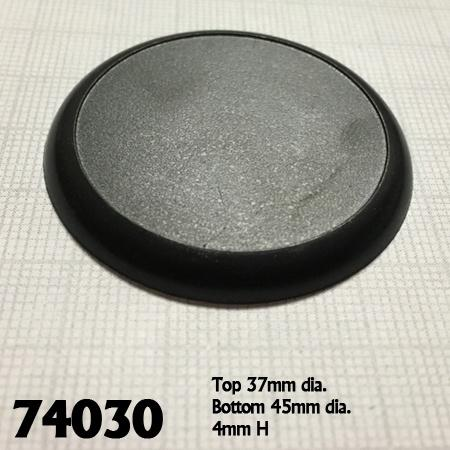 40mm miniatures gaming bases