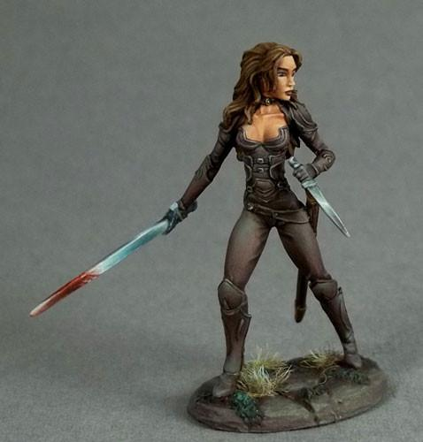 RPG Miniatures Female Thief
