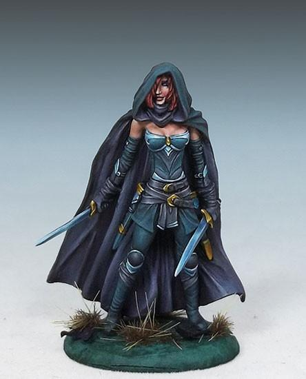 Dark Sword Miniatures DSM7445 Female Assassin