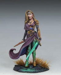 RPG Miniatures Female Magic User