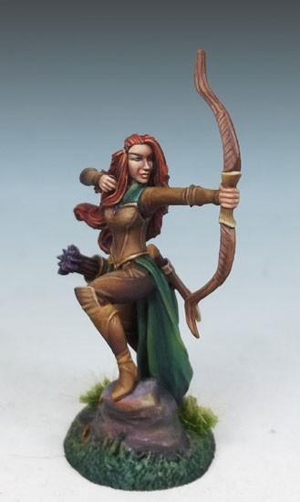 Dark Sword Miniatures Dsm7450 Female Elf Ranger With Bow