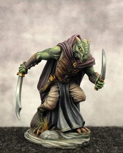 Dark Sword Miniatures Dsm7455 Dragonborn Rogue 28mm