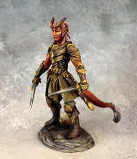 Dark Sword Miniatures DSM7458 Male Demonkin Rogue