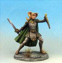RPG Miniatures Female Fighter