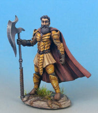 RPG Miniatures Fighter With Axe