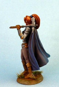 RPG Miniatures Female Warrior
