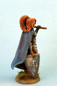 D&D Miniatures Female Cleric