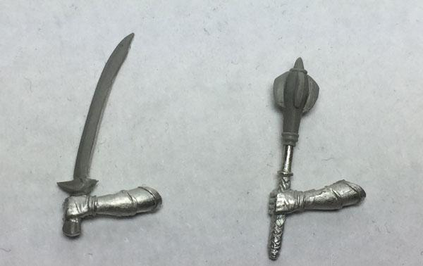 D&D Miniatures Weapons