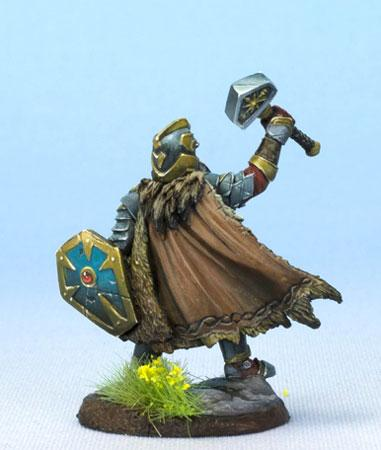 RPG Miniatures Dwarf Cleric
