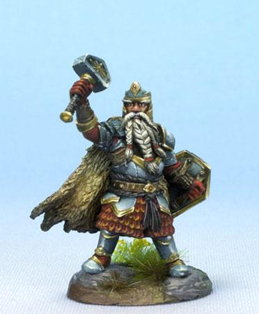 Dark Sword Miniatures Dwarven Cleric