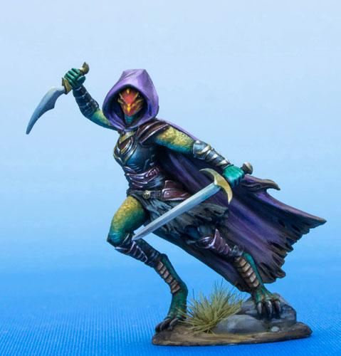 Dark Sword Miniatures DSM7483 Female Dragonborn Rogue