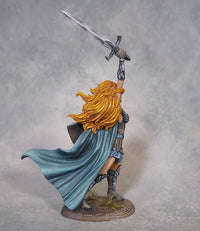 DSM7485 Female Warrior With Sword And Shield