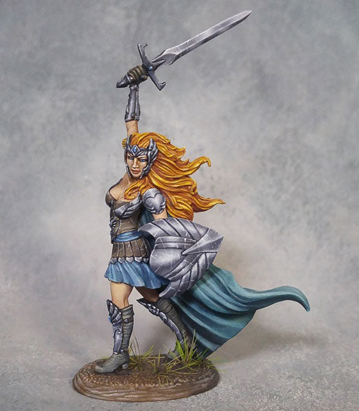 Dark Sword Miniatures Female Warrior