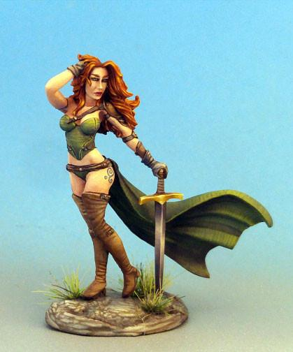 Dark Sword Miniatures DSM7541 Pinup Female Warrior