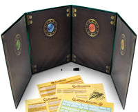 The Master's Tome Customizable DM Screen (Green)